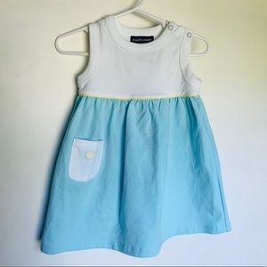 NWT 6-12M Ralph Lauren Dress + Bloomers
